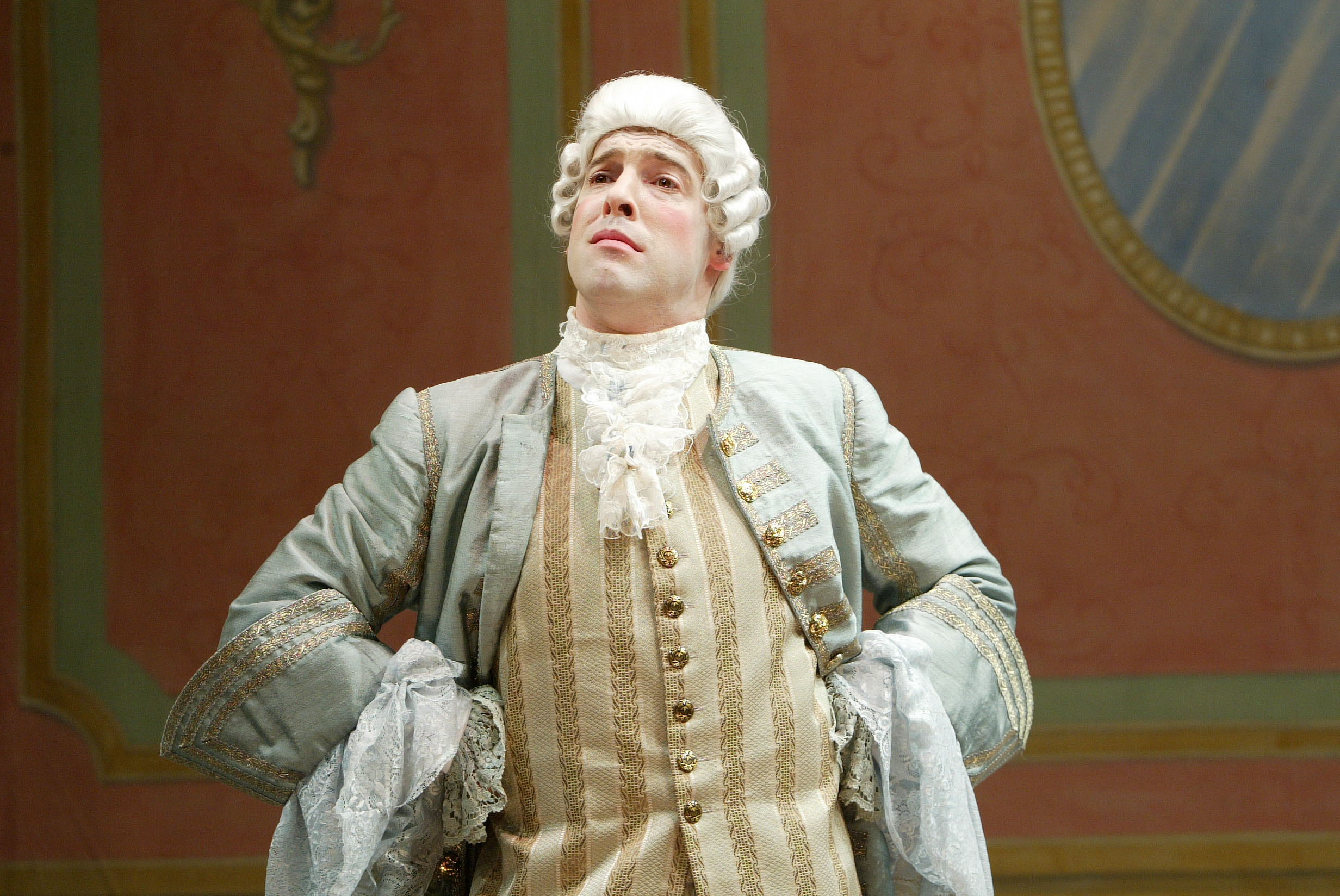 "Ian as Sir John Melvil in ""The Clandestine Marriage"". Photo by Carol Pratt."