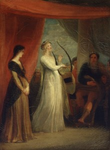 Marina Singing Before Pericles, 1825.
