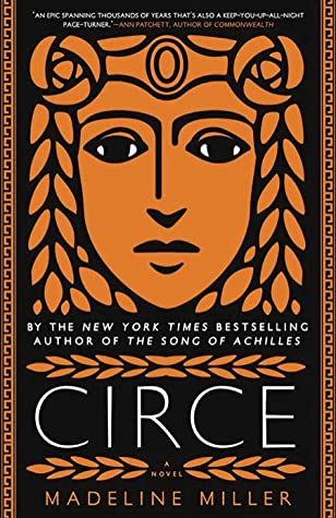 Circe by Madeline Miller; portrait of a woman in the style of Greek pottery