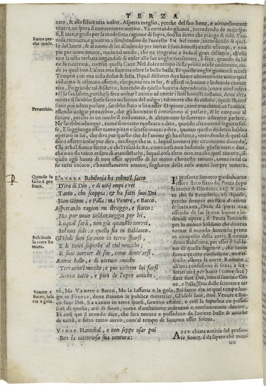 Page of a book with close typed words